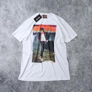 """新品 """" MICHAEL JACKSON """" マイケルジャクソン プリントTシャツ USA製 ホワイト"""