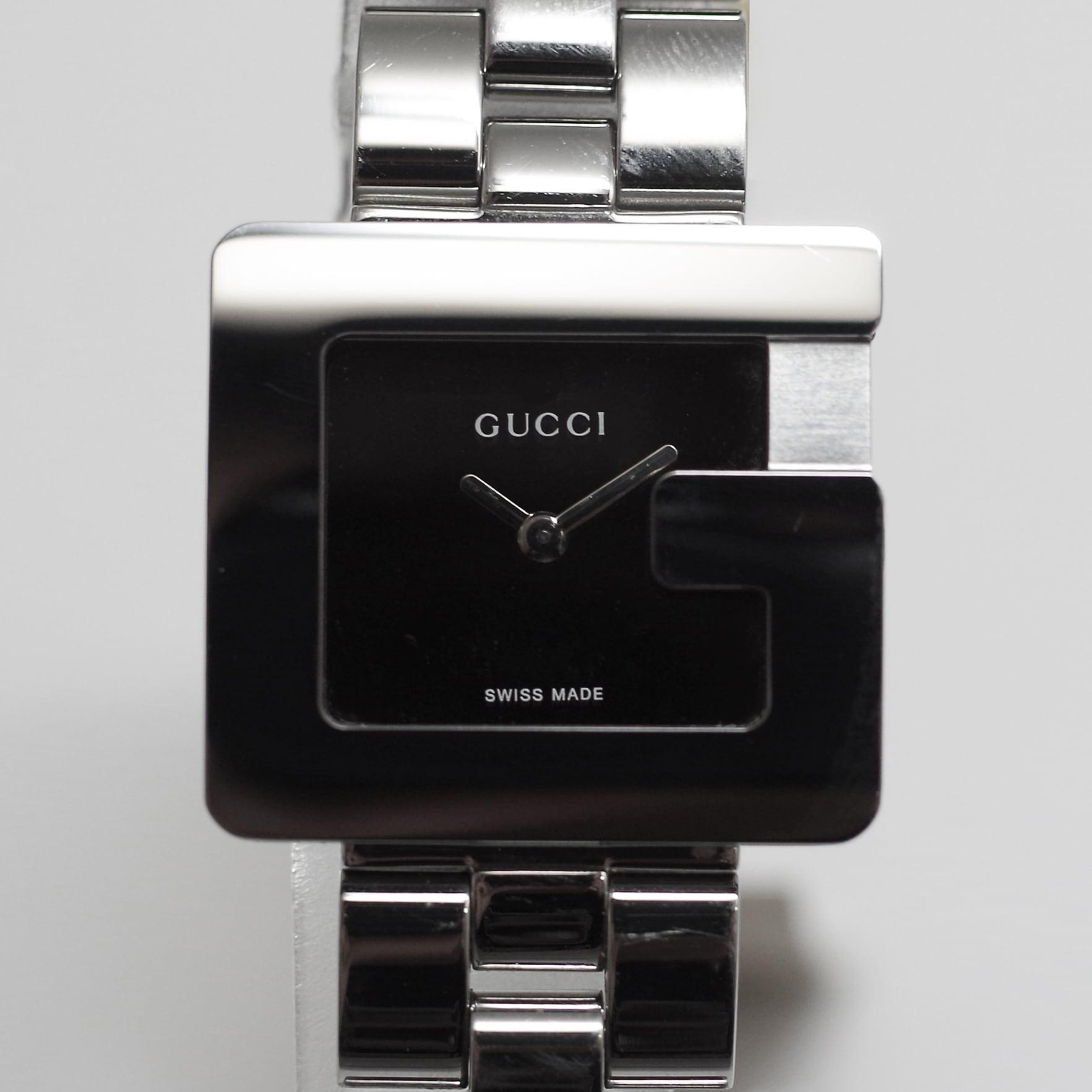GUCCI グッチ 3600L SS クオーツ ブラウン レディース 腕時計