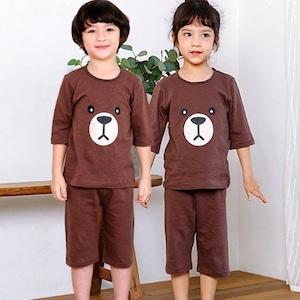 半袖くまのルームウェア / 韓国子供服