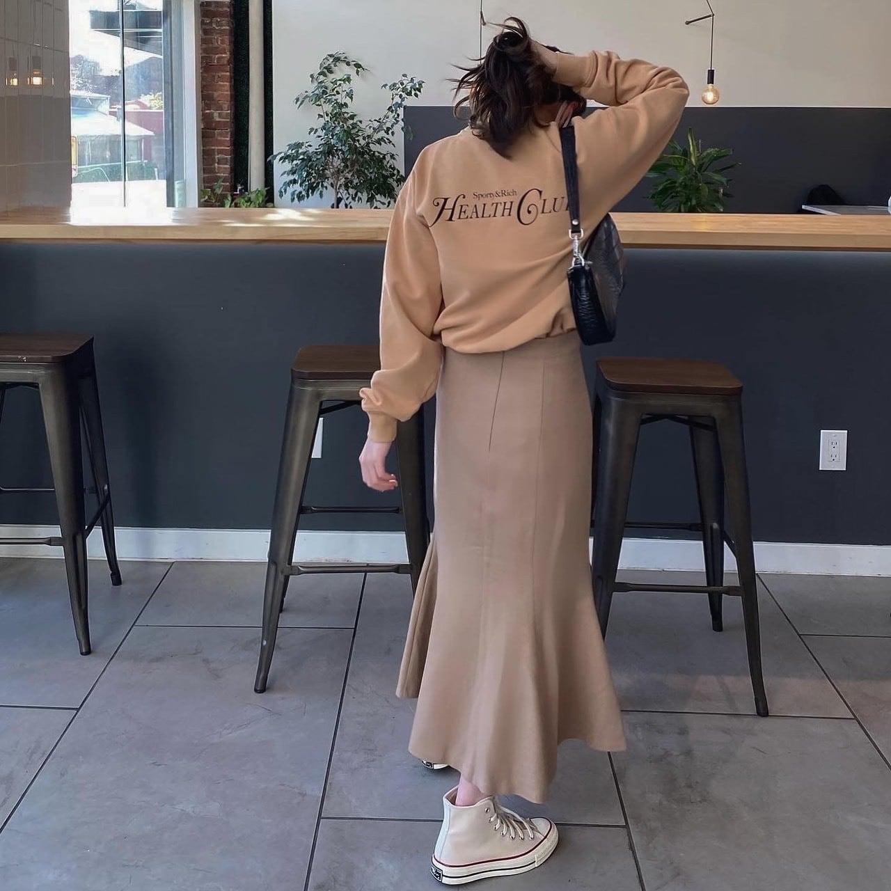 DAYNYC mermaid skirt (beige)
