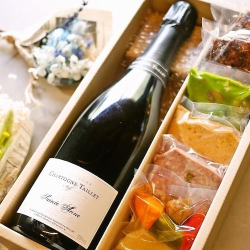 【送料無料】シャンパンと鴨を楽しむセットBOX(フレンチ惣菜 テリーヌ ワイン)【冷蔵便】の商品画像10