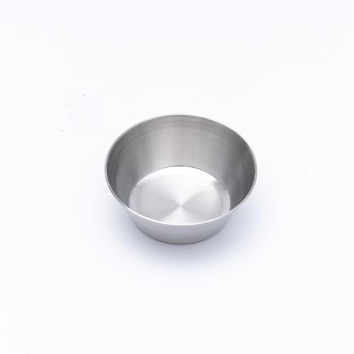韓国ステンレス食器/カップ/浅型(1号)【直径7㎝/高さ2.8㎝】