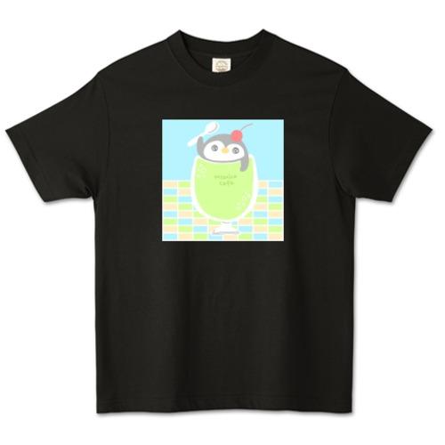 ペンギンメロンソーダ / オーガニックコットンTシャツ (TRUSS)