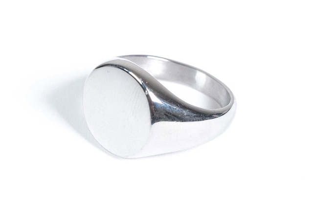 10/23[土]発売【316L circle signet ring】  / SILVER