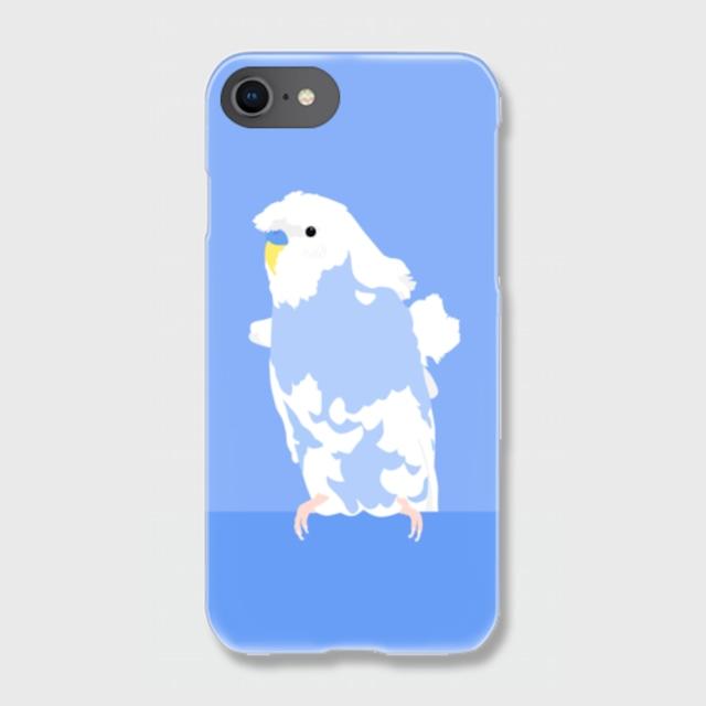 iPhoneケース 羽衣セキセイインコ 【各機種対応】
