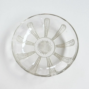 【015】 ガラス盛鉢 大正/ Glass Bowl / Taisho Era