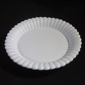 輪花デザート皿 L