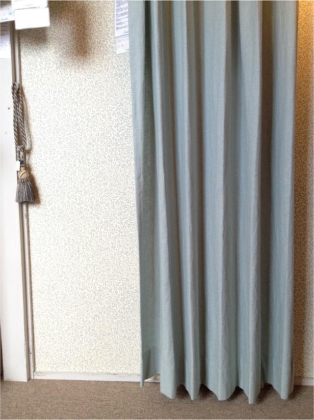 自然素材 カーテン  Spring スプリング401405 BL