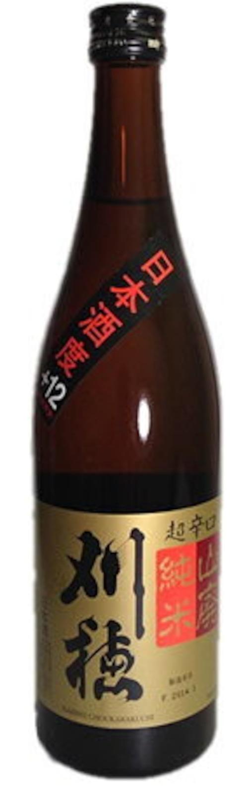 刈穂 山廃純米 超辛口 720ml