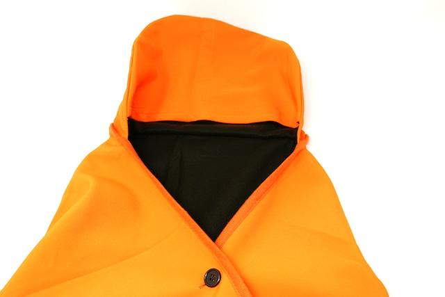 撥水備蓄用毛布 フード付きタイプ