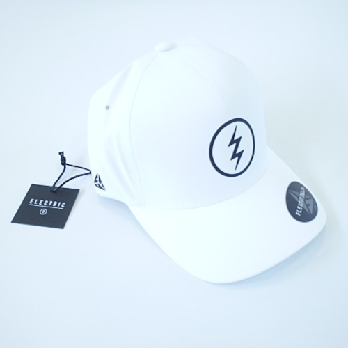 ELECTRIC:VOLT TECH CAP WHITE エレクトリック ボルト テック キャップ