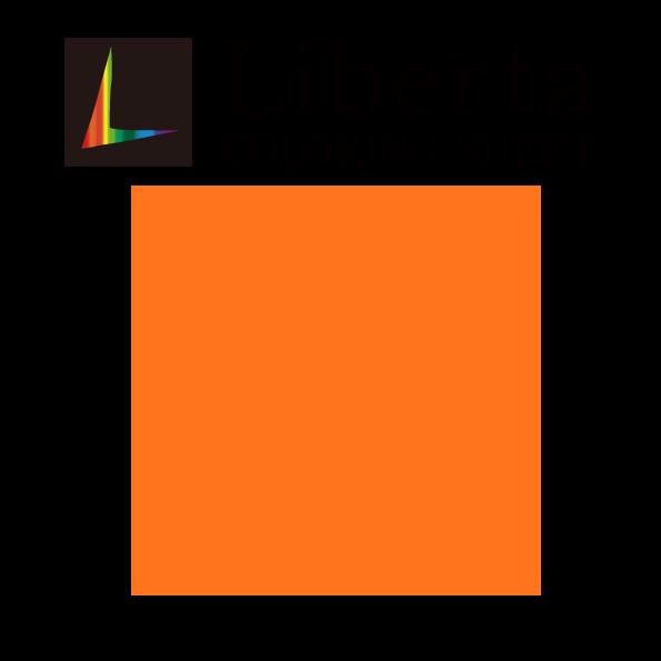 リベルタ LCS1579 パーシモンオレンジ 長期屋外用