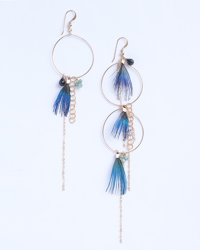 Izmir / Peacock Feather