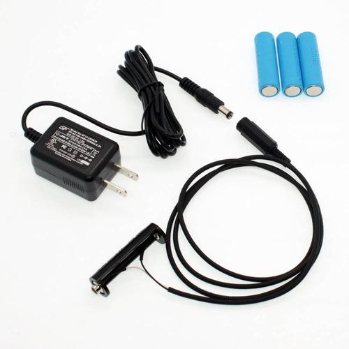 単3電池×4本用 ACアダプター接続ケーブル 1mセット品 [AABAT-4-1m-SET]