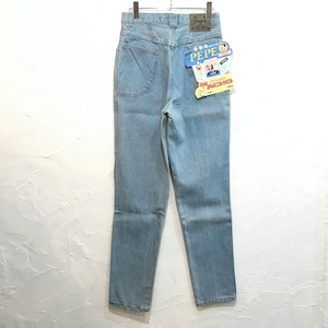 【DEADSTOCK】80s PEPE デニム テーパードパンツ