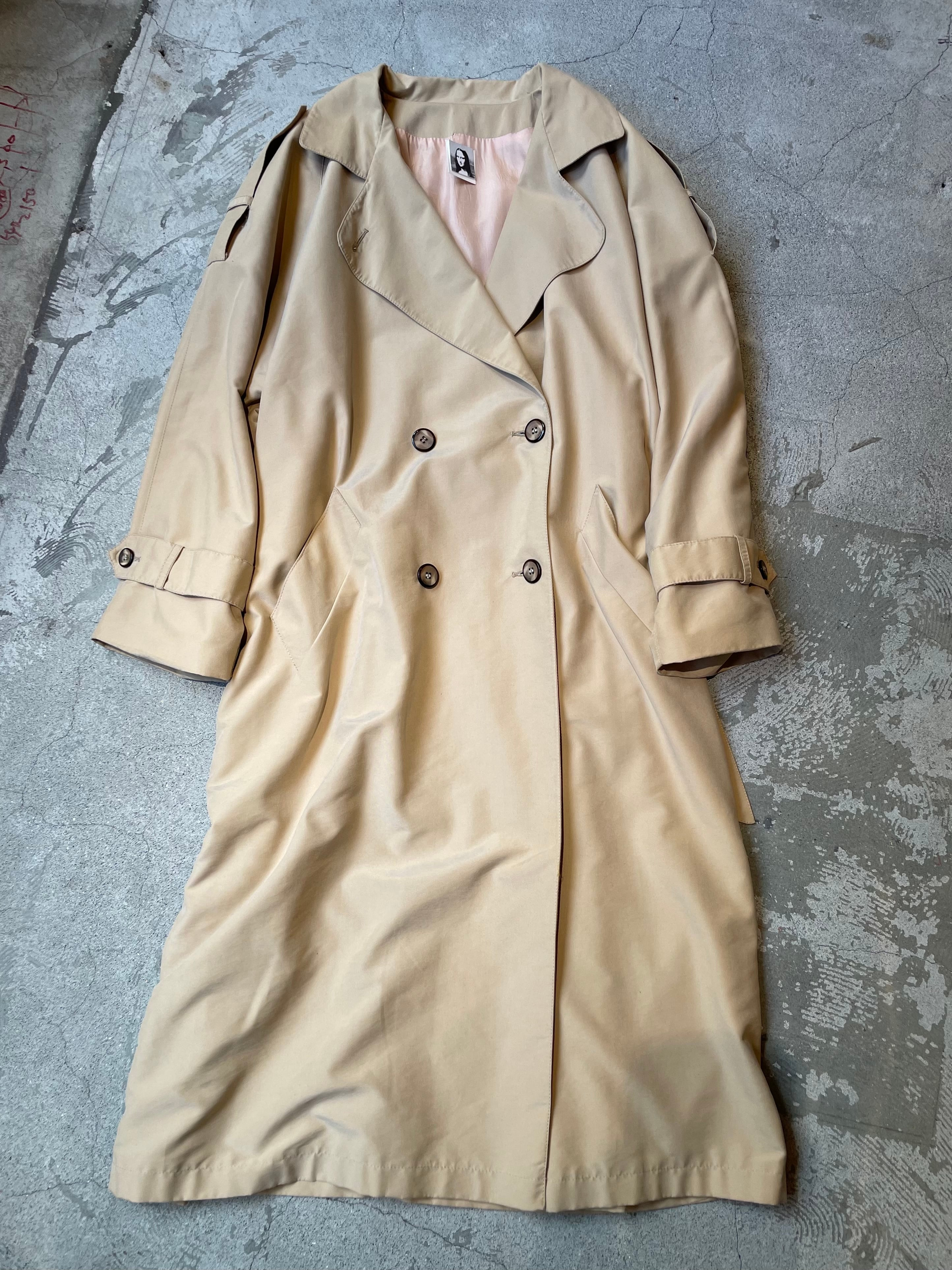 made in canada vintage trench coat