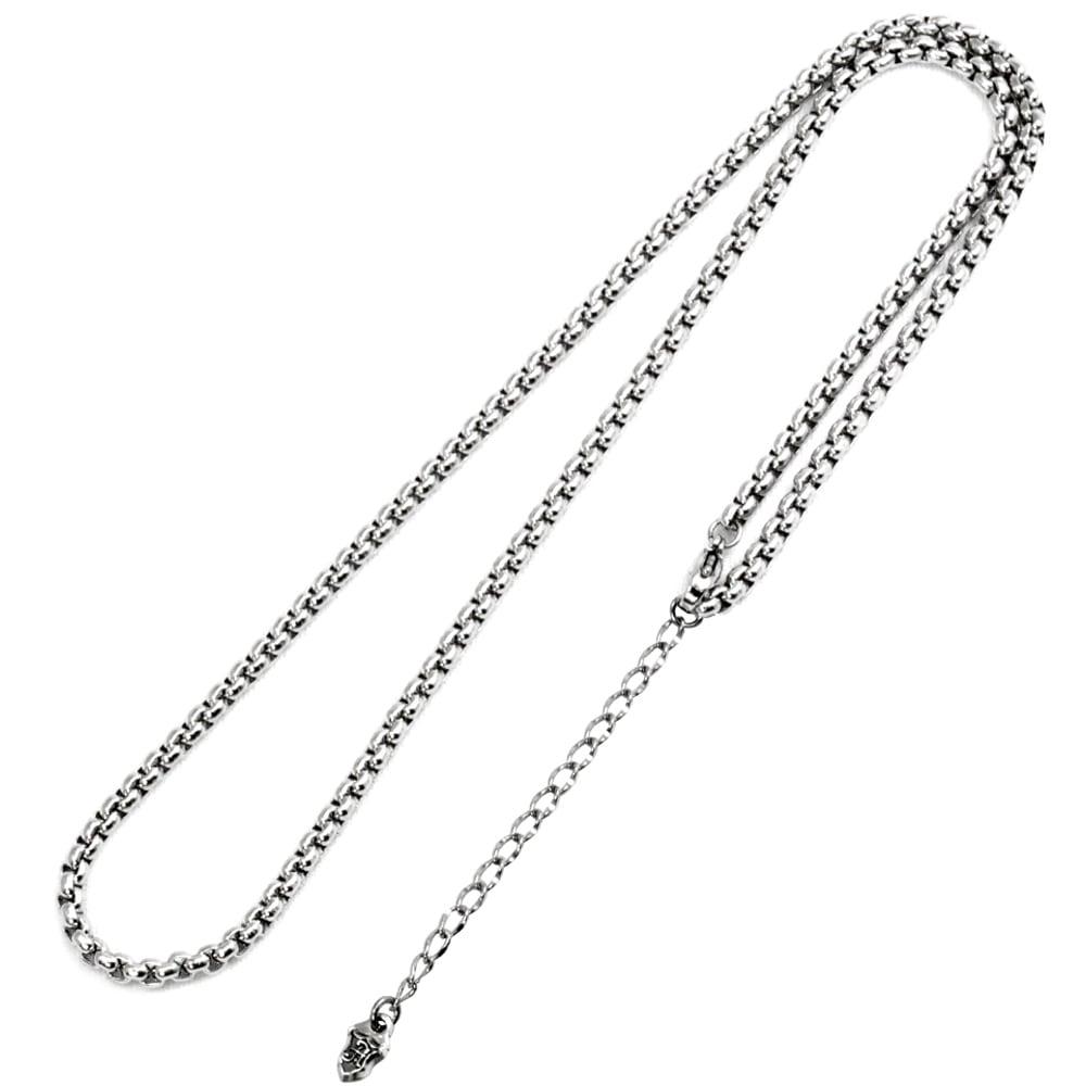 ステンレス甲丸ベネチアンチェーン3.0mm ACCN0033 Stainless steel instep round Venetian chain 3.0 mm
