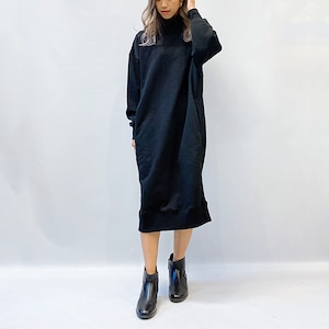 DOUBLE STANDARD CLOTHING(ダブルスタンダードクロージング) ESSENTIAL/ ヘビー裏毛コクーンワンピース 2021秋冬新作[送料無料]