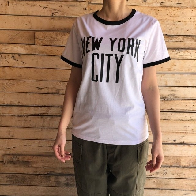 TOPANGA Lady's New York City Tシャツ ホワイト