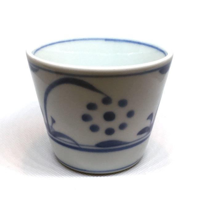 【砥部焼/梅山窯】蕎麦猪口(太陽)