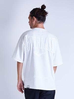 EGO TRIPPING (エゴトリッピング) EVERLAST×EGO TRIPPING T-SHIRTS エバーラスト×エゴトリッピングTシャツ / WHITE×WHITE 663781-00