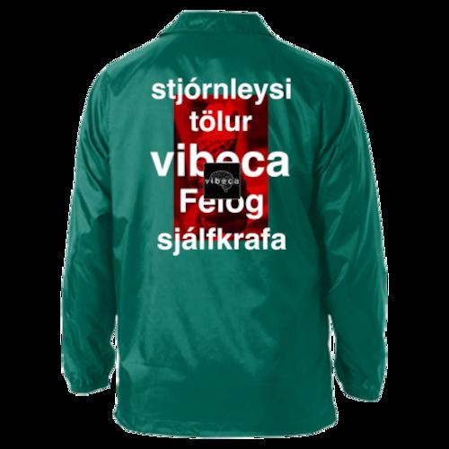 vibeca コーチジャケット  green
