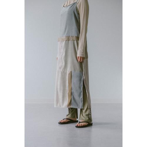 【RehersalL】suede camisole onepiece(gray) /【リハーズオール】スエードキャミワンピース(グレー)