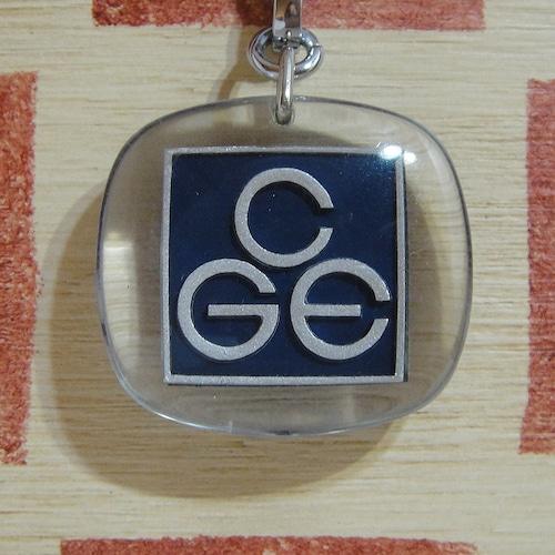フランス CGE[ゼネラル・エレクトリック・カンパニー]電気会社 企業広告ノベルティ ブルボンキーホルダー