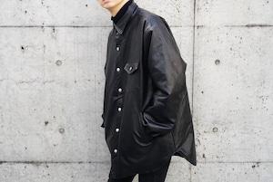 Over Size Leather Jacket