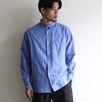 STILL BY HAND【mens】cotton silk regular collar shirts