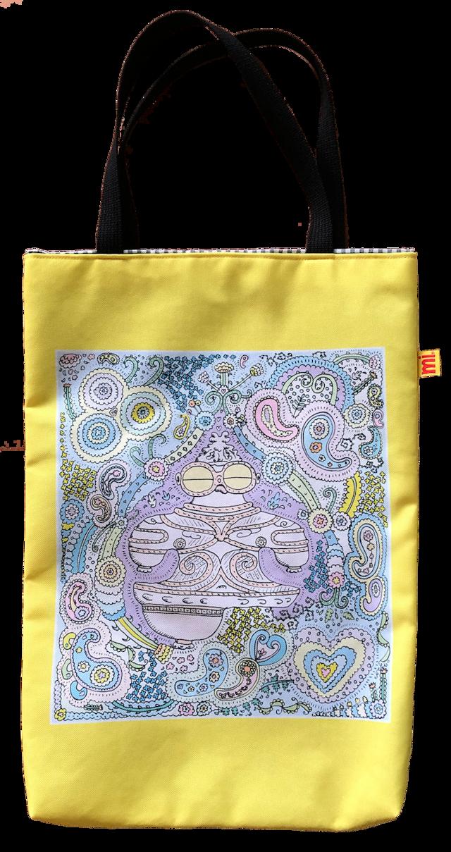 アトリエ「み」 トートバッグ 遮光器土偶柄|縄文