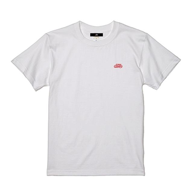 ロゴ刺繍Tシャツ / ホワイト | SINE METU