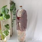 正絹 木蘭色(もくらんじき)に総絞りの羽織