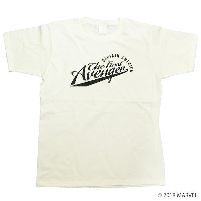 【マーベル】キャプテン・アメリカ|カレッジデザイン Tシャツ
