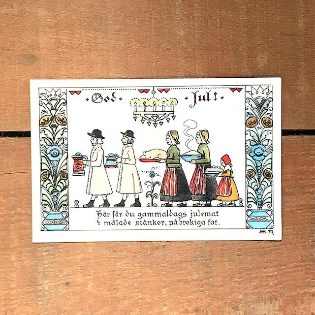 クリスマスカード「Signe Aspelin(シグネ・アスペリーン)」《201204-02》