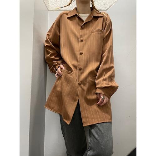 MAXINI ポリエステル シャツジャケット