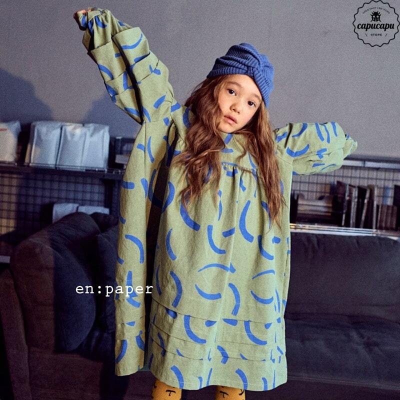 «sold out»«en paper» cecilie one piece 2colors セシリーワンピース