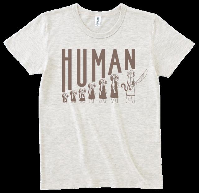 ピノキオピー 人間が着るやつTシャツ(メンズ / オートミール) - メイン画像