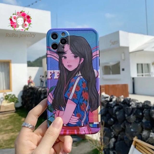 アニメチックなiPhoneケース(Bタイプ)