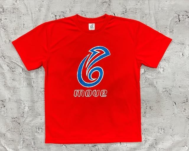 【予約販売】ドライTシャツ(オレンジ/ブルー)
