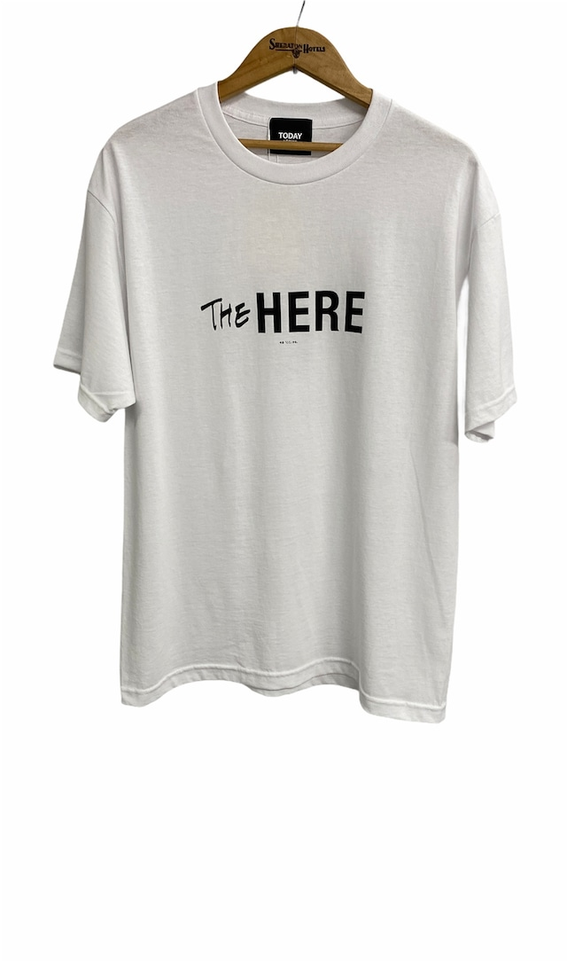 TODAY edition / THE HERE SS Tee(WHITE)