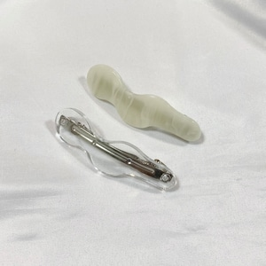kunekune hair clip[2104-54]