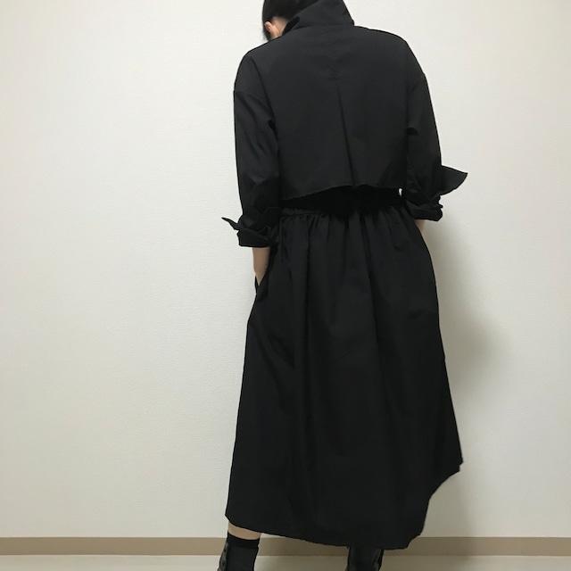 コートワンピース BLACK