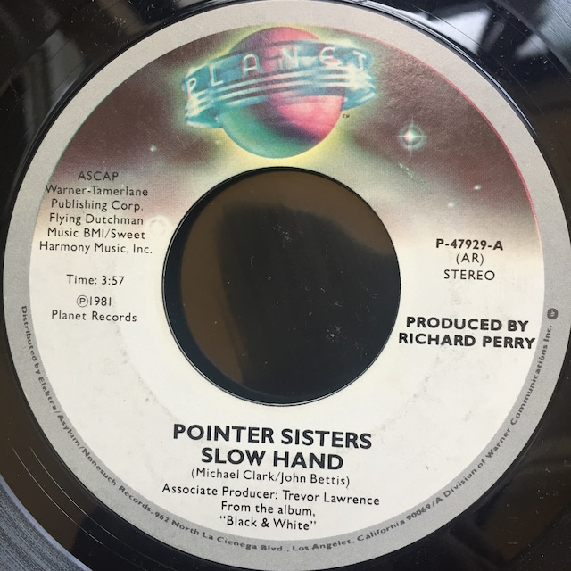 Pointer Sisters – Slow Hand