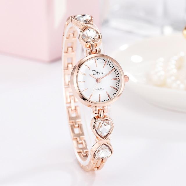 DISU LT-D4067(white) レディース腕時計