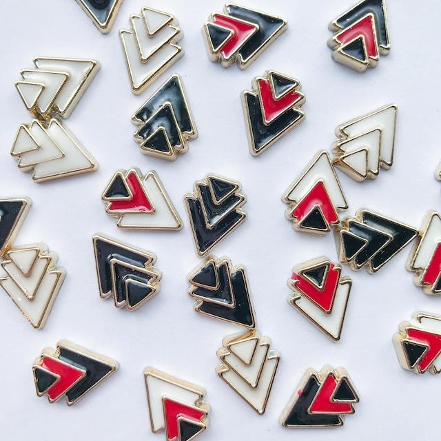 3連三角重なりカボションパック(10p)