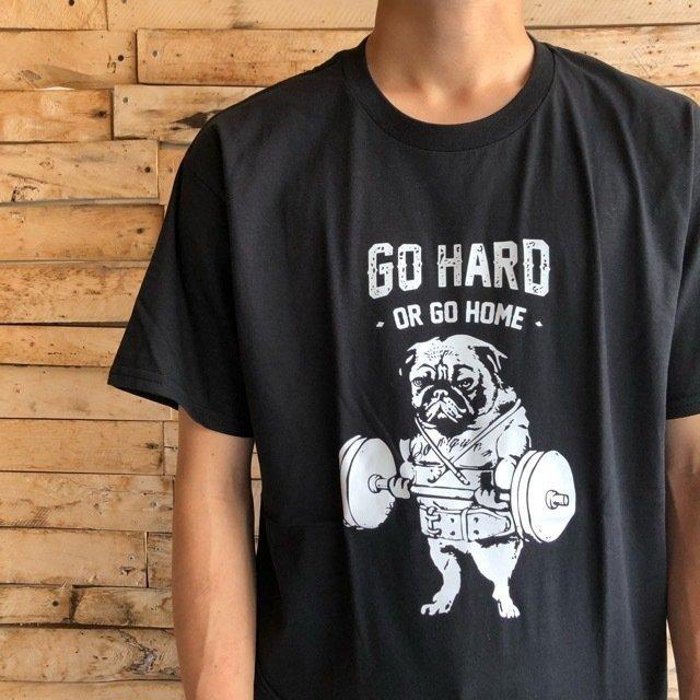 TOPANGA Men's Go Hard Tシャツ ブラック