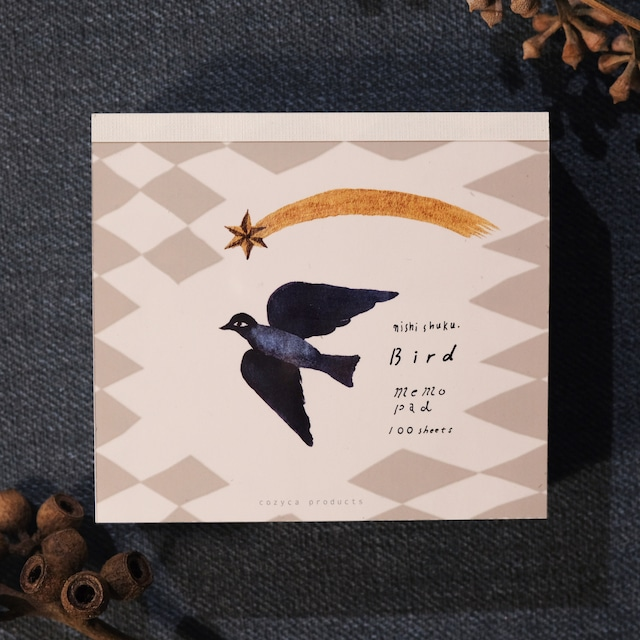 Notepad - bird