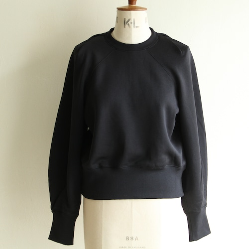 PHEENY【womens 】nylon sweat tucked sleeve pullover