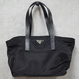 PRADA プラダ ハンドバッグ ブラック ブラック ナイロン